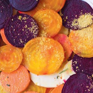 Sweet Potato & Beetroot Gratin