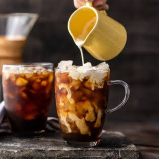Spiked Thai Iced Coffee (Plus Non-Alcoholic Version).