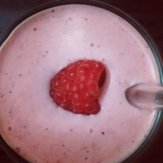 Raspberry Smoothie.