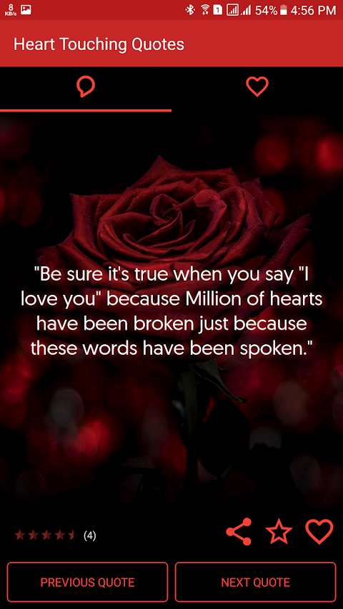 Most Heart Touching Quotes