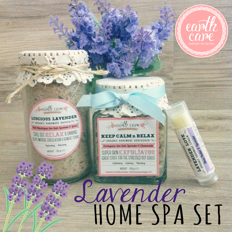 Lavender Home Spa Set by Earth Care Soaps