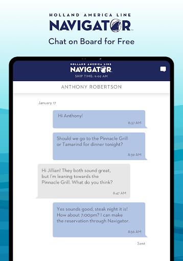 Holland America Line Navigator 1.7.5 screenshots 8