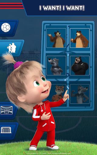 Masha and the Bear: Football Games for kids 1.3.7 screenshots 15