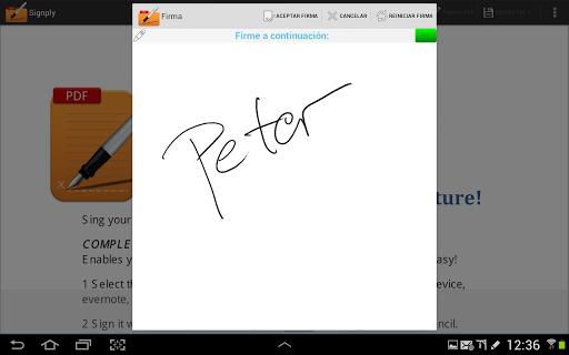 Handwritten PDF e-signatures screenshot 17
