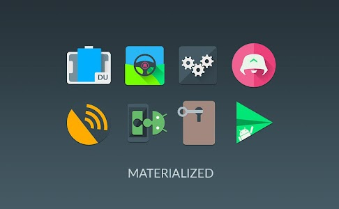 MATERIALISTIK ICON PACK 9.8 (Patched)