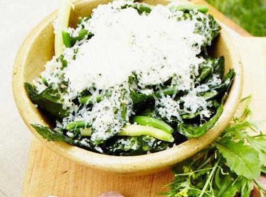 Marinated Kale And Green Bean Salad Recipe