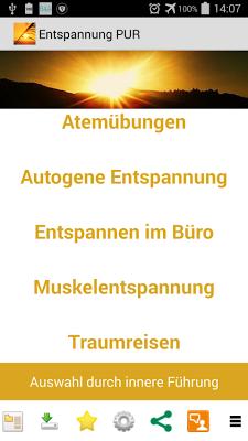 Entspannung PUR Körper & Geist - screenshot