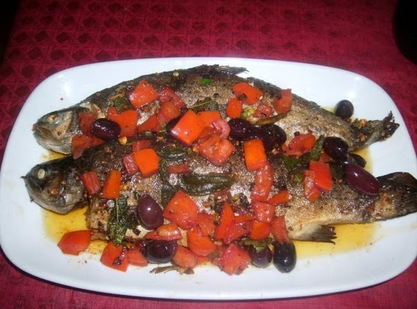Brown Butter Rainbow Trout Recipe