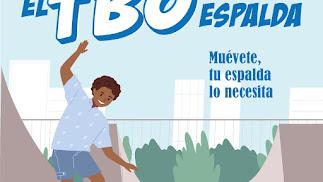 El TBO de la espalda, viñetas para prevenir el dolor de espalda en los escolares