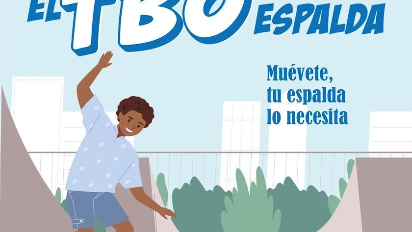 El TBO de la Espalda de descarga gratuita está dirigido a familias y alumnado.