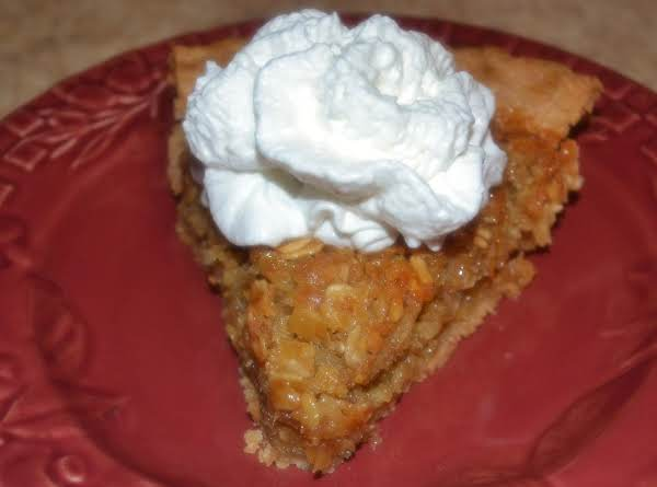 Toasted Oatmeal Coconut Pie