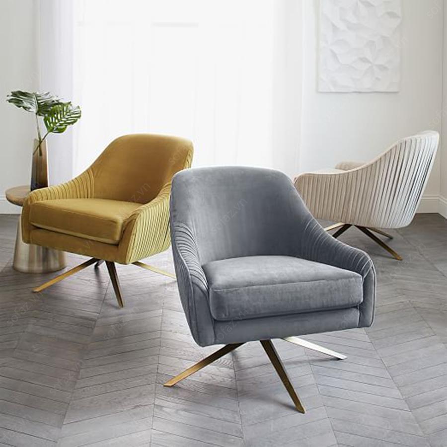 3 loại ghế phòng khách được sử dụng nhiều nhất trong không gian gia đình