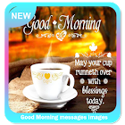 Good Morning messages images icon
