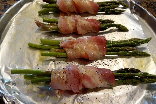 Bake 15 minutes or until asparagus is tender and bacon or prosciutto is nicely...