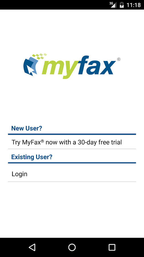 Fax from your phone in minutes with the award-winning fax app from eFax® - the online fax leader with 11 million+ users worldwide! The eFax mobile fax app puts the power of a fax machine at your fingertips/5(K).