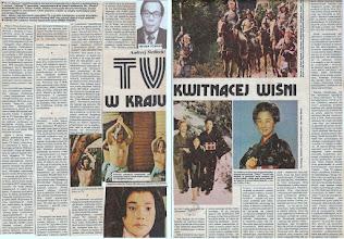 Photo: TV w kraju kwitnącej wiśni - Ekran nr 20/1983