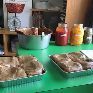 Yoder's Amish Bakery – Part I – MAPLE BROWN SUGAR-FROSTED ZUCCHINI BARS.