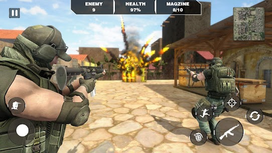 Call Of Army Survival War Duty -Battleground Games 6