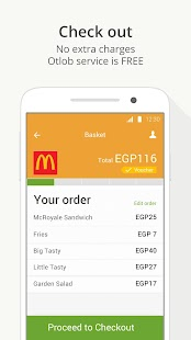 Otlob - Order food delivery- screenshot thumbnail