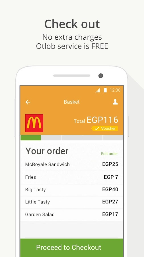 Otlob - Order food delivery- screenshot