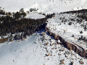 Photo: Flying over the Bighorn