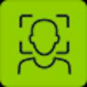 Aena. Biometric registration icon