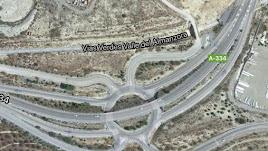 Captura de pantalla del lugar en el que ha ocurrido el accidente.