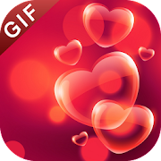 3D Love GIF : Love Stickers