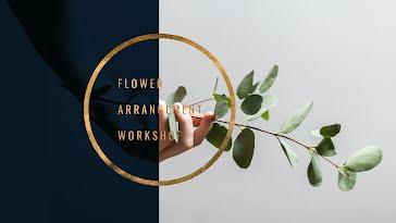 Flower Arrangement - YouTube Channel Art template