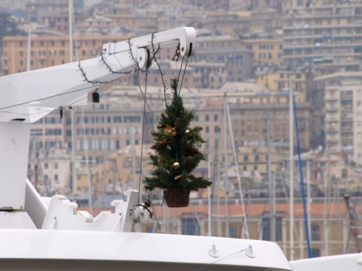 Natale in barca di Gian Luigi