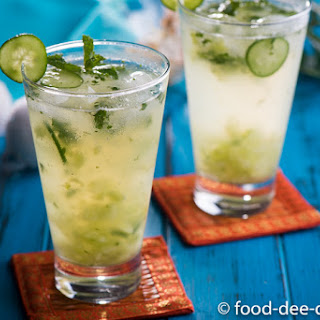 Summery Cucumber & Mint Cooler