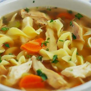 Better Than Yo Mama's Chicken Noodle Soup