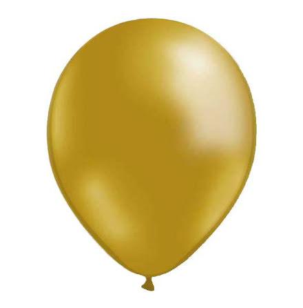 Ballonger - Guld metallic