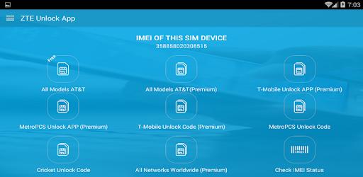 Free Unlock ZTE Mobile SIM - Apps on Google Play