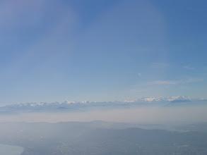 Photo: Und die Alpen aus 10000 M. über Meer