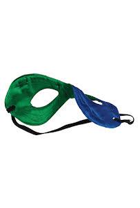 Hero ögonmask barn, blå/grön