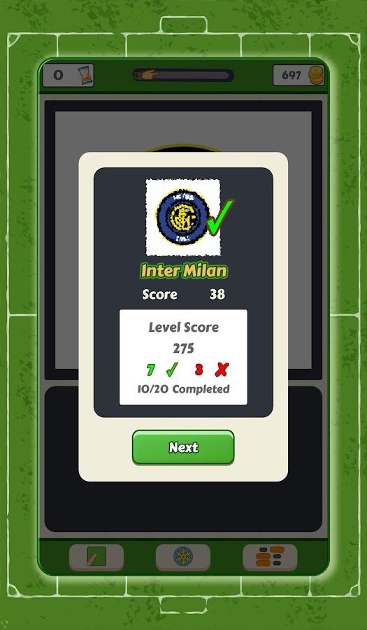 Scratch Football Logo Quiz- screenshot