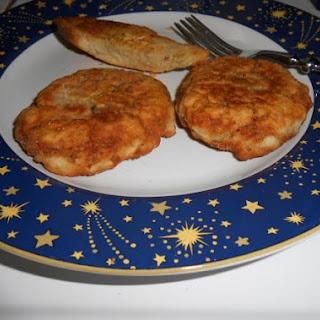 Ellen's Crispy Salmon Patties.
