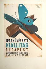 Photo: Affiche pour une exposition d'Arts appliqués à Budapest (Signée Dallos)