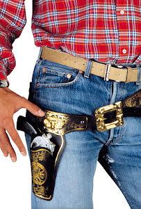 Cowboyhölster, svart