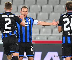 Coronavirus : Bruges privé de son capitaine pour le match sommet contre l'Antwerp