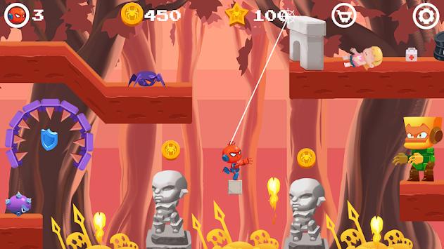 Amazing Robot Spider: Superhero Battle apk screenshot
