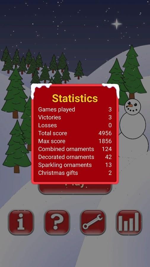 christmas tree game screenshot - Christmas Tree Games