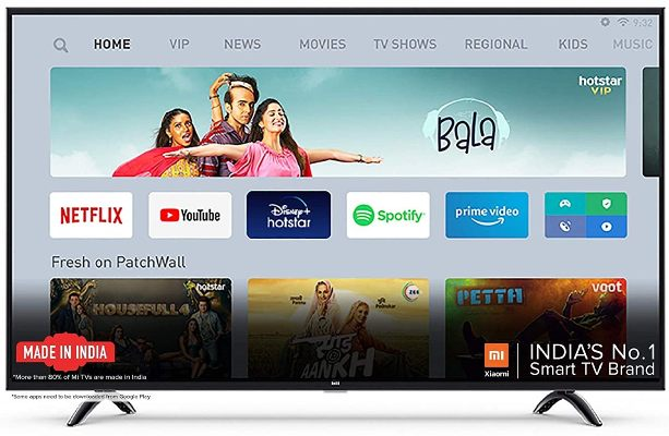 Mi Smart 4A Android Tv