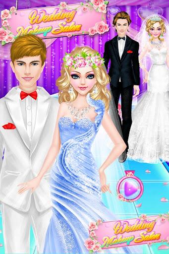 婚礼化妆艾尔莎的装扮沙龙