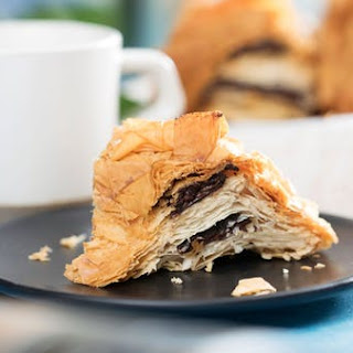 Chocolate Croissant Ring Recipe