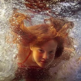 bubbles by Dmitry Laudin - People Fine Art