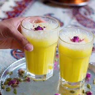 Persian Saffron Milkshake.