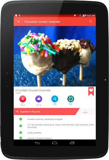 Chocolate Recipes 25.7.5 screenshots 11