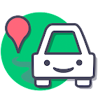 Wazypark free parking places icon